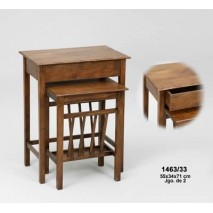Mueble mesa apoyo madera...