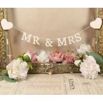 Guirnalda bodas letras...