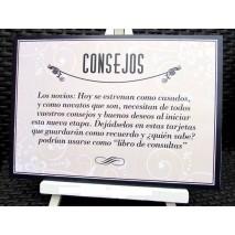 CARTEL CONSEJOS + ATRIL