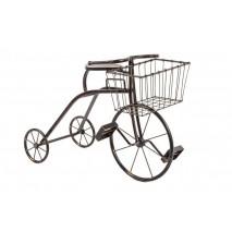Bicicleta metal c/ cesta +...