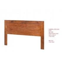 Mueble cabecero 150 cm de cama