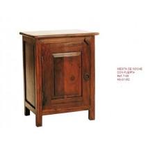 Mueble mesilla con puerta