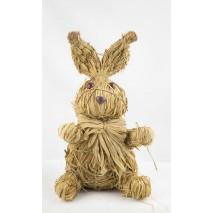 Conejo paja 30 cm